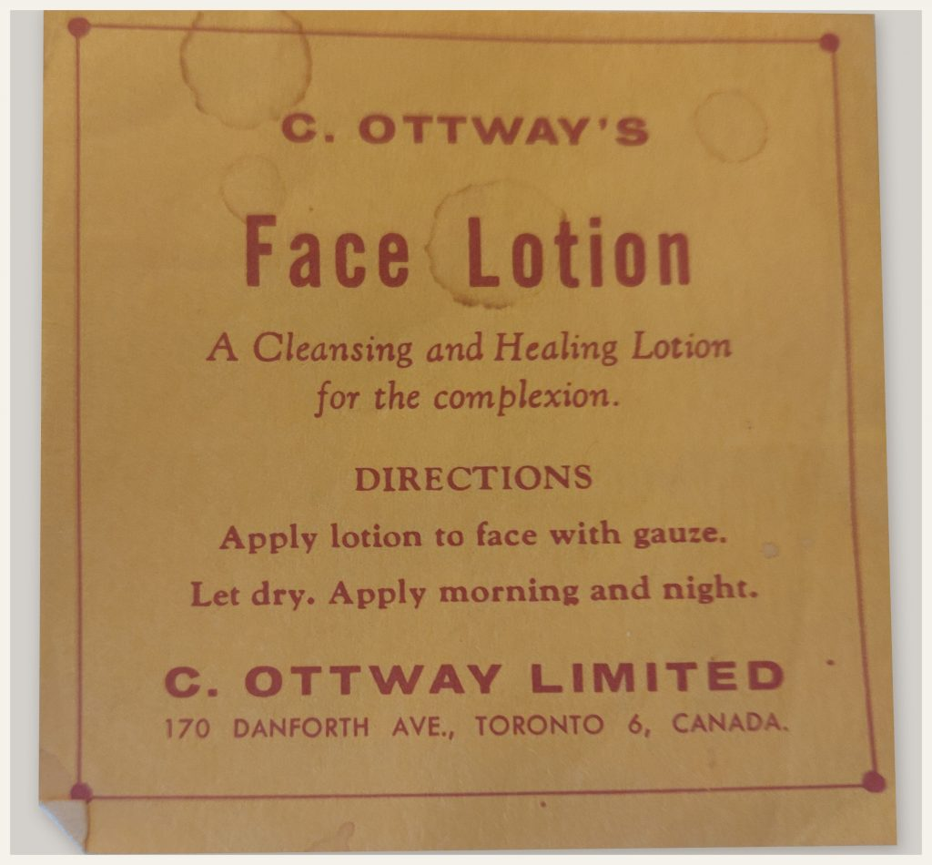 Ottway label 2