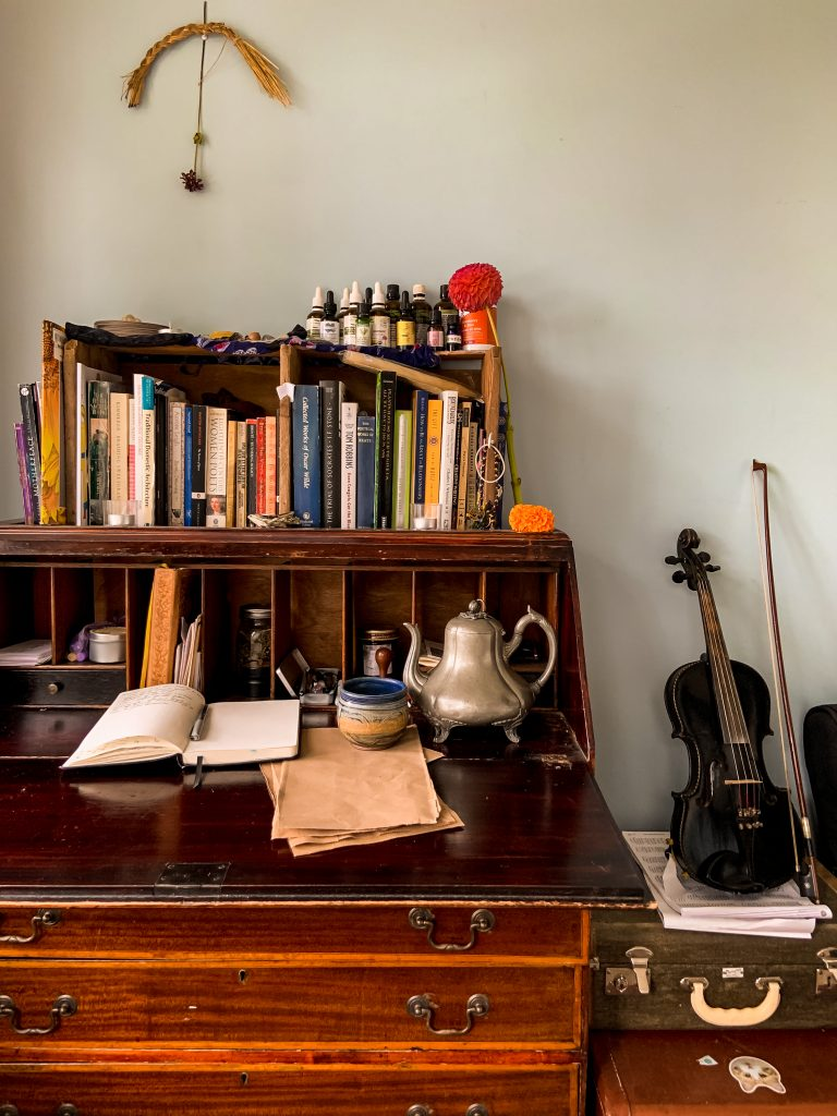 A Desk at Home