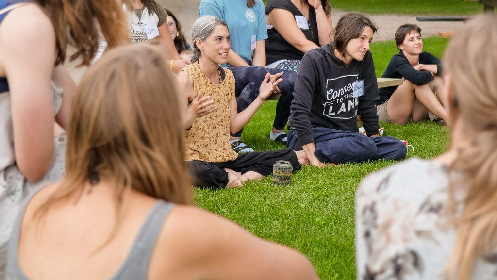 Herb Camp Gathering Tamara
