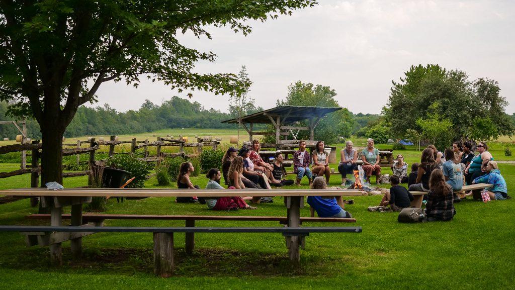 Herb Camp Gathering