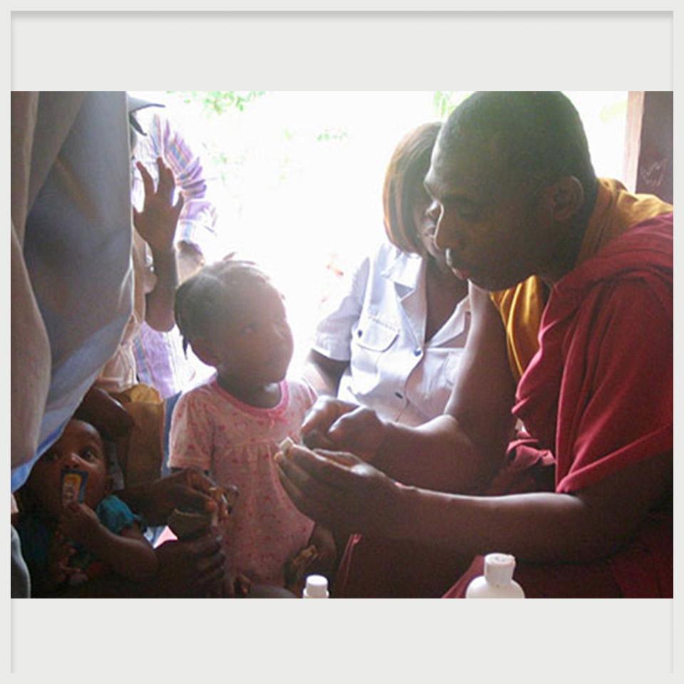 Haiti Clinic Treatment